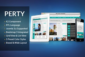 SJ Perty - News/Magazine Template