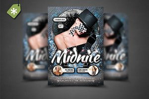 Midnite Flyer Template