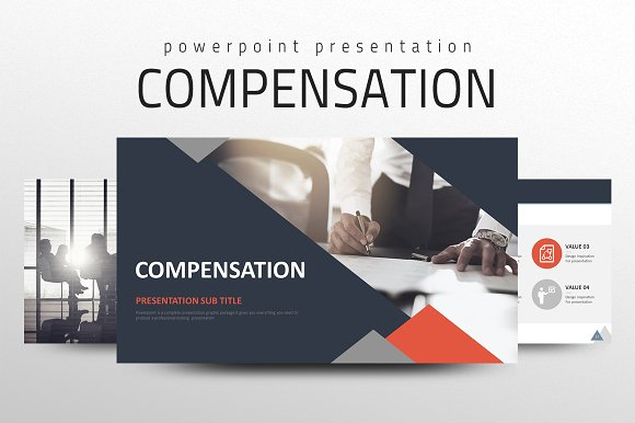 compensation ppt presentation templates creative market