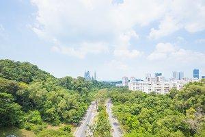Road Park in Singapore.