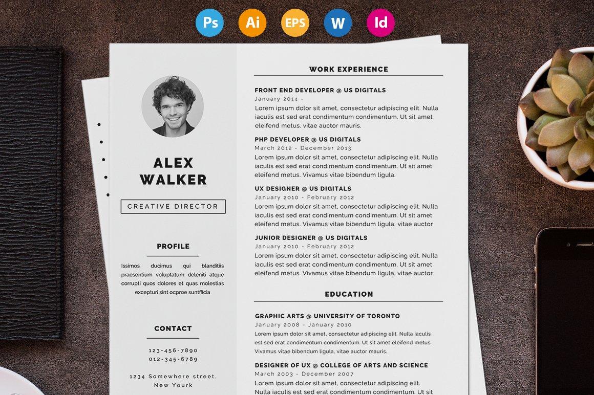 Resume / CV - \