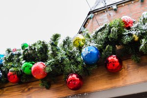 christmas decorative garland