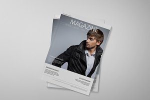 Indesign Clean Magazine