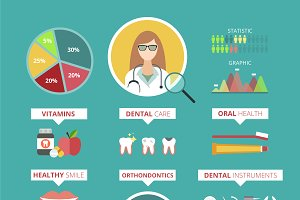 Doctor infographic vector