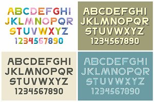 Elegant bold font