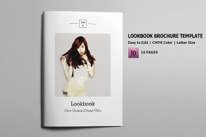 Fashion Lookbook Magazine-V584
