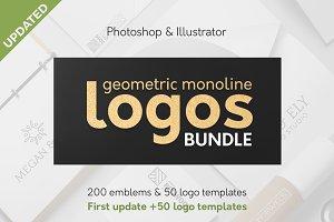 Geometric Logos Bundle 50% OFF