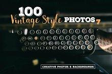 100 Vintage Style Photos v.7