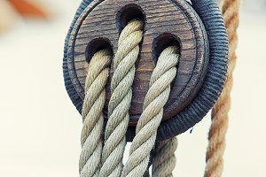 Ropes attached