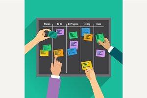 To agility via task management