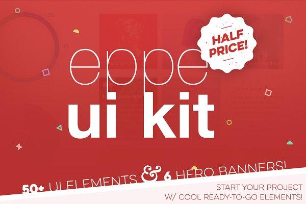 Eppe UI Kit + 6 Hero Banners
