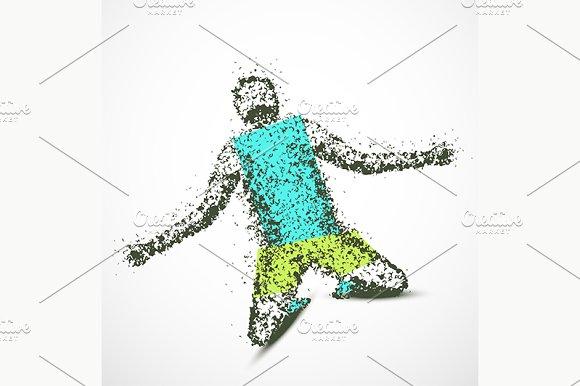 Abstract Man
