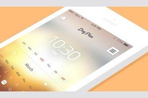 Calendar iPhone App Template
