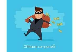 Offshore Companies Concept