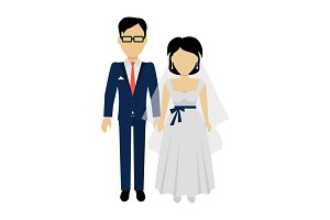 Newlyweds Couple Design