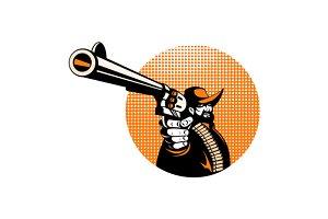 Bandit Cowboy Revolver Hand Gun