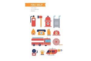 Fire Help Conceptual