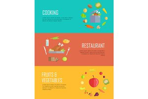Set of Horizontal Food Concepts