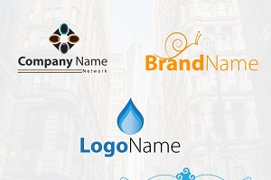 Five Logos in One