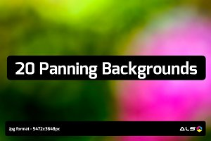 20 Panning Backgrounds