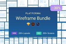 Platforma Wireframe Bundle 30% off