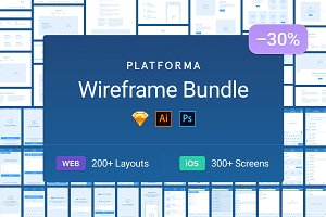 Platforma Wireframe Bundle 30% off