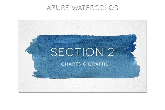 watercolor powerpoint template presentation templates creative