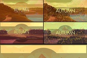 Autumn Banners Set