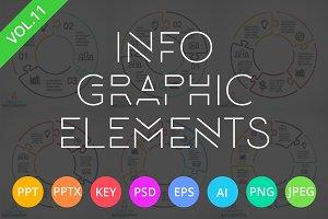 Infographic Elements Vol.11