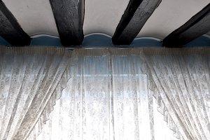 curtains and beams