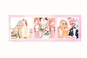 Facebook cover photo template
