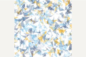 Abstract triangulated background