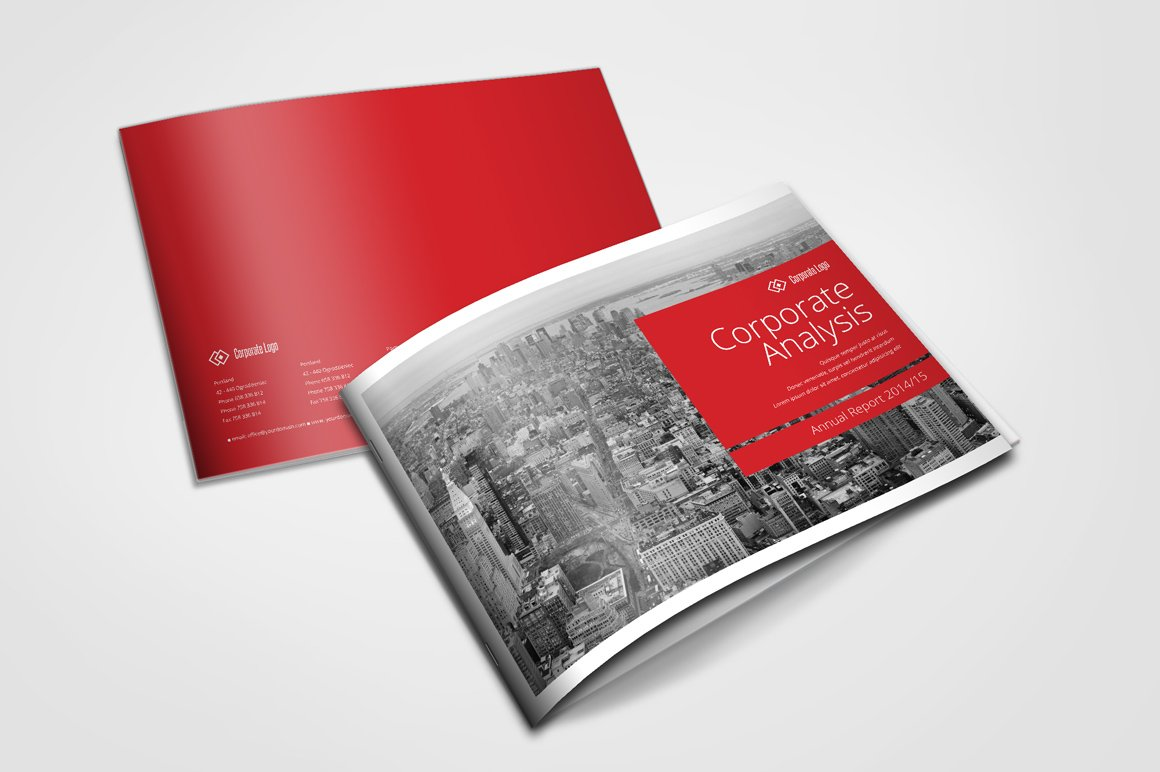 Swiss Annual Report Brochure Brochure Templates