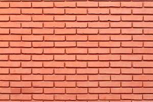 Red brick wall tiles