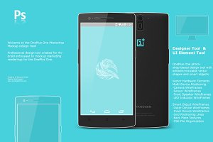 OnePlus One Android Mockup & Concept