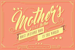 mother's day greeting template
