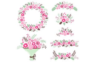 Floral Collection Set