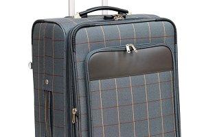 Luggage isolated on white