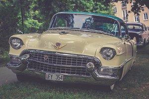 Classic Beige Car