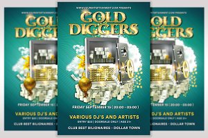 Gold Diggers Flyer