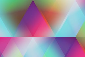 Soft Triangles Pattern