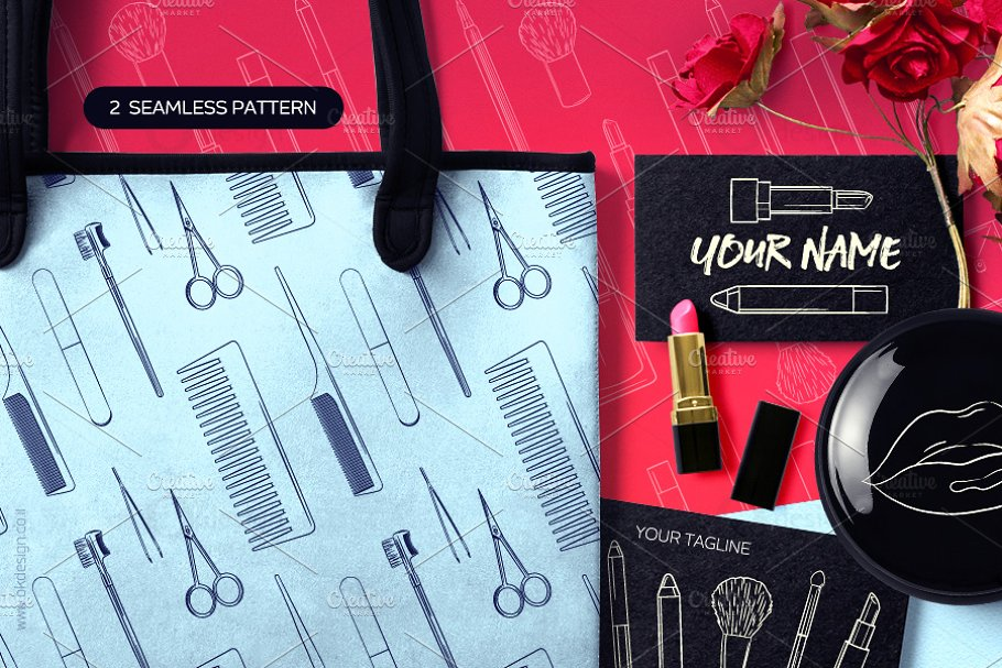 Beauty Tools Sketches