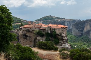 Monastery of Varlaam in Greece