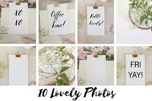 Hello Gold!  Lovely Message Bundle