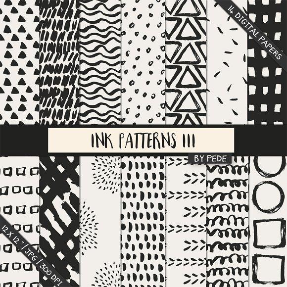 Ink Patterns III