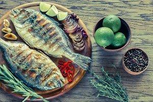 Grilled Dorade Royale Fish