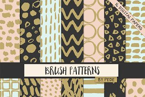 Brush patterns