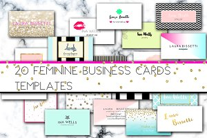 Pack 20 Business Cards