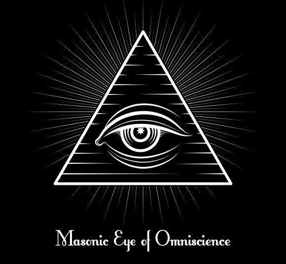 Omniscience All Seeing Eye Symbol Graphics Creative Market