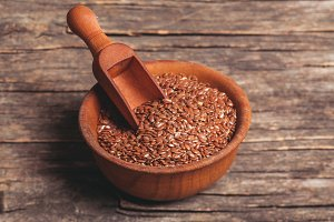 The flax seeds